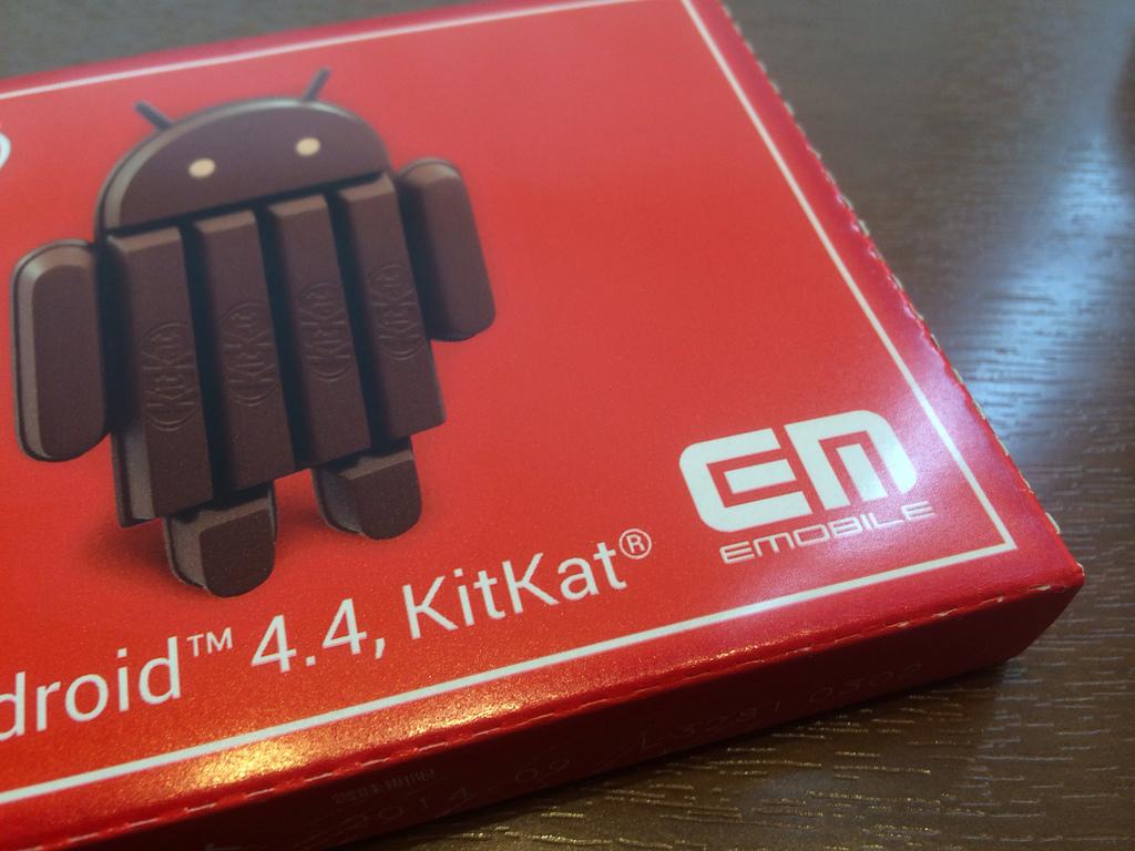 Nexus 5の体感イベントに参加してイー・モバイル特製キットカットをゲットしてきた!