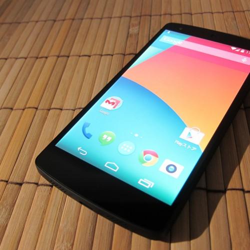 Nexus 5開封の儀&ファーストインプレッション(感想)!