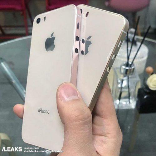 iPhone SE2、画像がリーク。ガラスボディ採用か