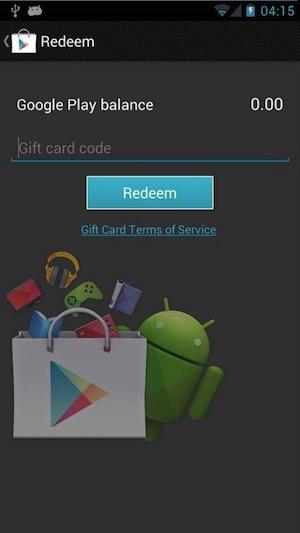 Google Playストアがアップデート。Google Playギフトカードでの決済機能が提供へ!?