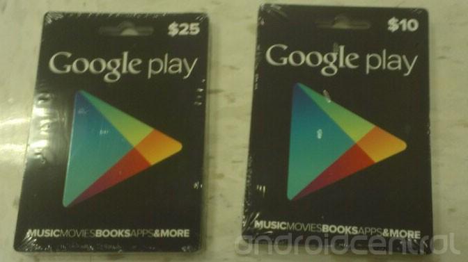 Google Playストアのギフトカードは8月26日より販売開始。ただし米国限定。