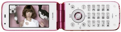 N904iのCMにYUKIを起用。