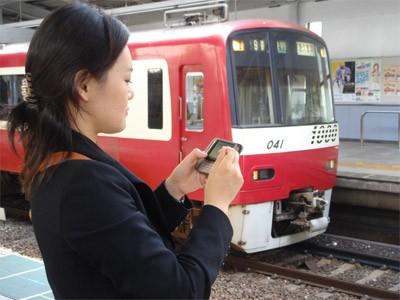京急線全駅に公衆無線LANが設置。