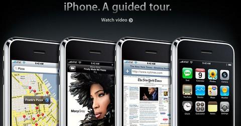米AppleにiPhoneの解説ムービーが登場。