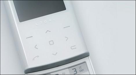 HSDPA対応チョコレートフォン「L704i」を19日に発売。