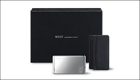 au、W55Tのpremium versionを30日に限定発売。