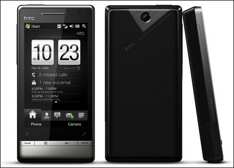 高解像度・大画面化したHTC Touch Diamond2が発表!