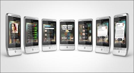 Androidケータイ、HTC Heroが公式発表!