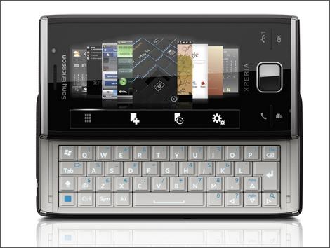 ソニー・エリクソン、WindowsMobile6.5搭載「XPERIA X2」発表
