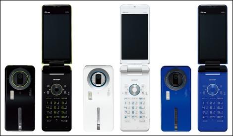 AQUOS SHOT SH006 – 12Mのカメラと無線LANを搭載。