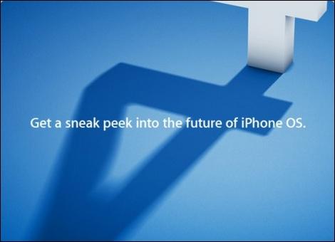 【速報】iPhone OS 4.0発表!マルチタスクを搭載。