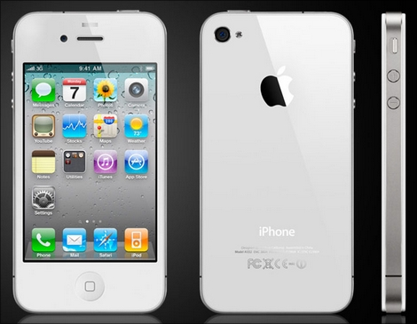 iPhone 4ホワイトモデルの売り上げが絶好調!5週連続販売ランキング首位を獲得