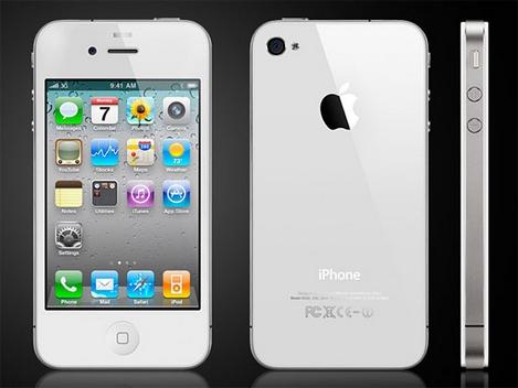 iPhone 4のホワイトモデルは春発売確定!?