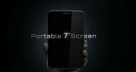 Android 2.2を搭載した「Galaxy Tab」のティザー動画が公開。