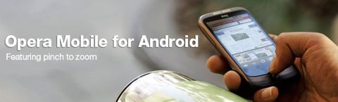 Android向けに「Opera」が11月にリリース。