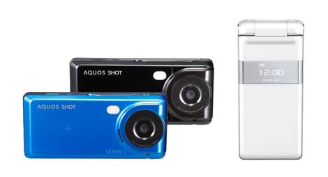「AQUOS SHOT SH010」 - カメラを強化したハイスペックモデル