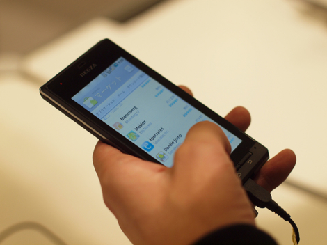 「REGZA Phone T-01C」はiPhone並にサクサクだった!