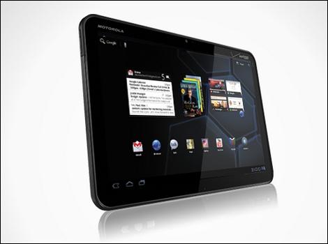 「MOTOROLA XOOM Wi-Fi TBi11M」 – Android3.0、Tegra 2搭載。