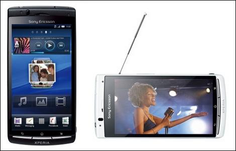 ソニーエリクソン、おサイフケータイやワンセグ、赤外線に対応した「Xperia acro」を発表!