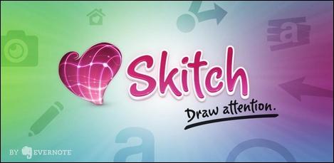 手軽に画像に文字入れができるAndroidアプリ「Skitch」