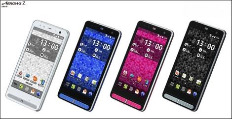 携帯電話販売ランキング、auの「ARROWS Z ISW1F」が初登場首位を獲得!