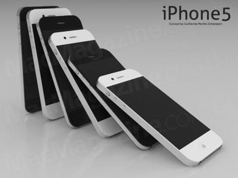 iPhone 5の画像が流出!?ディスプレイ周りは枠無しに?