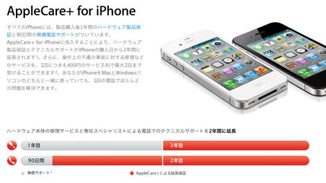 水没も画面破損の修理が受けられる「AppleCare+ for iPhone」が日本でも利用可能に!