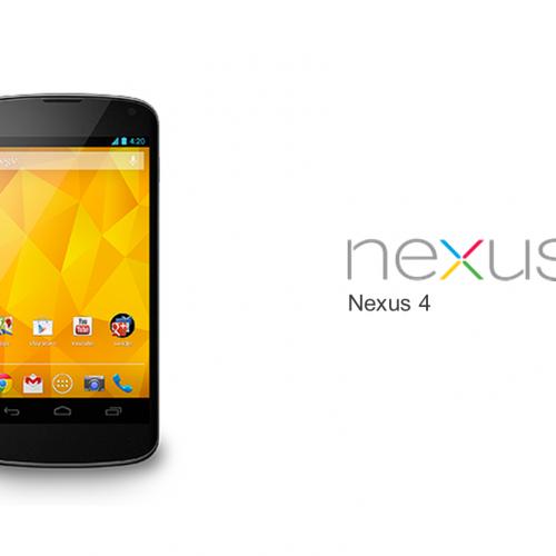 GoogleとLG電子共同開発の「Nexus4」が出荷台数100万台を突破か