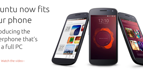 Ubuntu Phoneが2013年10月にも発売へーカノニカルのCEOが認める