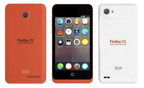 Firefox OSを搭載した開発者向けのスマホ2機種が発表される!