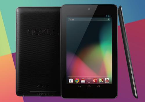 【速報】Nexus7の3Gモデル(SIMフリー)が2月9日に国内で発売へ!