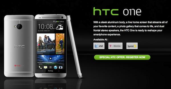 HTC、「HTC One」を発表!ー1.7GHzのクアッドコアプロセッサを搭載