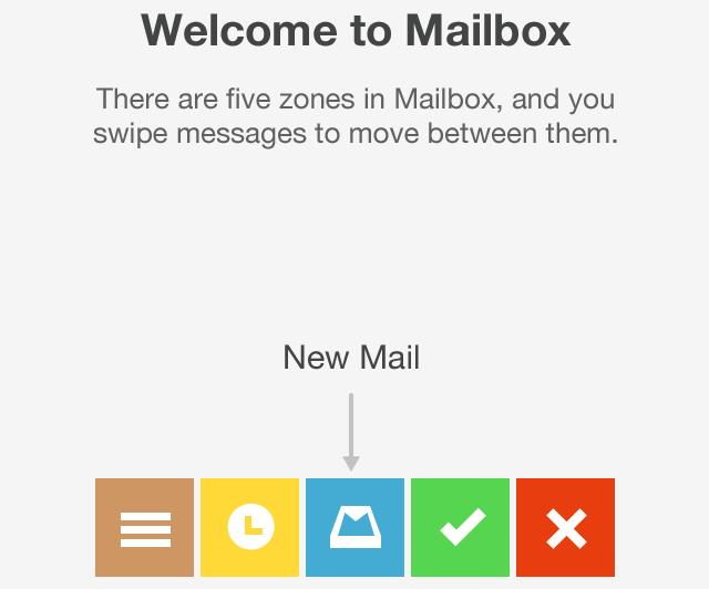 行列のできるメールアプリ「Mailbox」がようやく使えるようになった!
