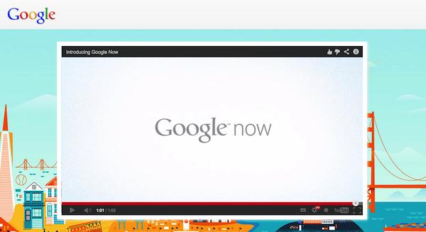 Google NowがiOSにも提供かーデモ動画の存在が明らかに