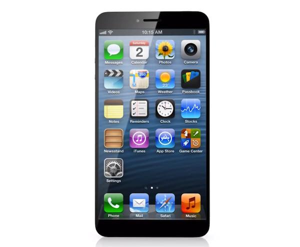 iPhone6のコンセプト動画が登場ーホームボタン廃止、狭小ベゼルの採用など