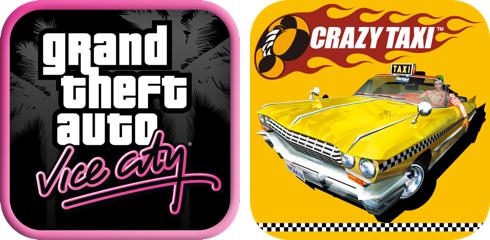 GTA Vice CityとクレイジータクシーのiOSアプリが170円でダウンロードできるセールが実施中!
