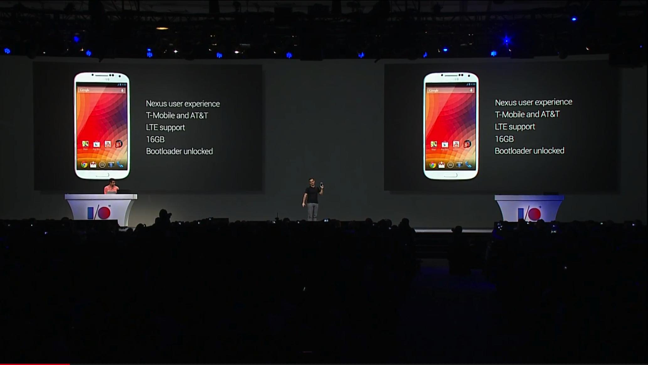 Google、Nexus風「GALAXY S4」を発表!・・・