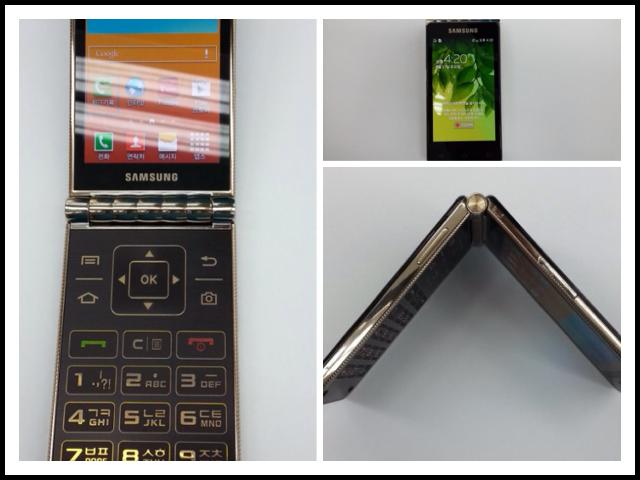 日本はちょっと早かったのかも?サムスンが折りたたみ式スマホ「GALAXY Folder」を開発中!