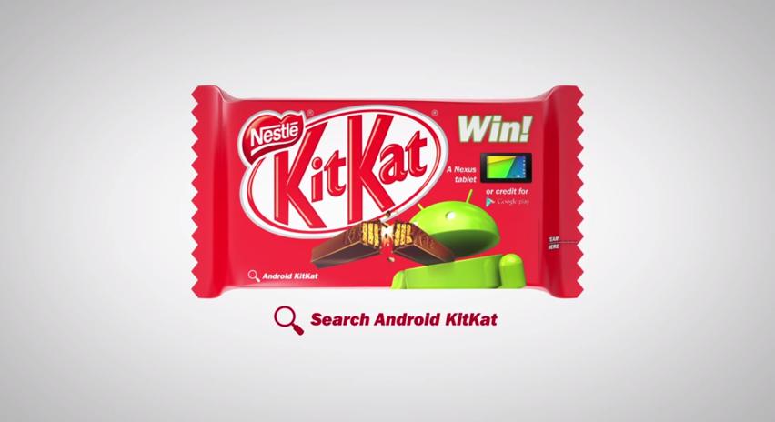 Android 4.4のコードネーム「KitKat」でGoogleとネスレがコラボ!特別版のキットカットを発売!
