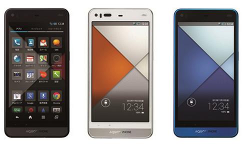 【au2013年秋冬モデル】AQUOS PHONE SERIE SHL23ーIGZO×3000mAhの大容量バッテリー
