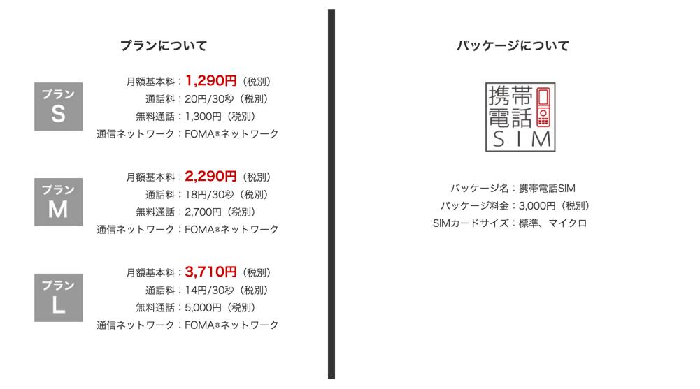 使わなくなったフィーチャーフォンを月額1354円で再利用できるMVNO SIMが登場