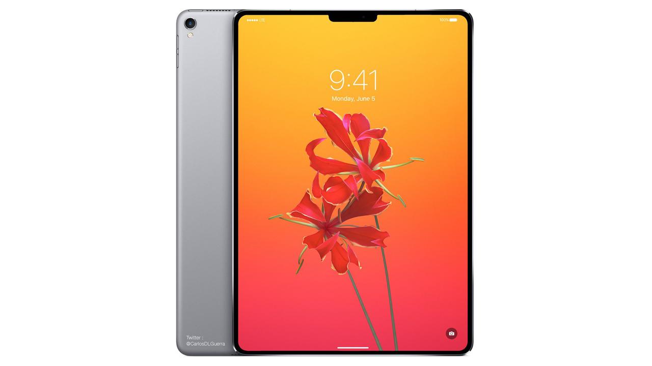 2018年の「iPad Pro」、顔認証とTrueDepthカメラをサポートか