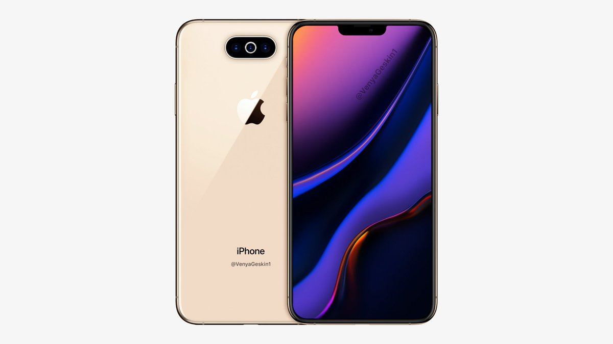 2019年の新型iPhone、トリプルカメラで超広角撮影と広範囲ズーム可能に。Lightning廃止も