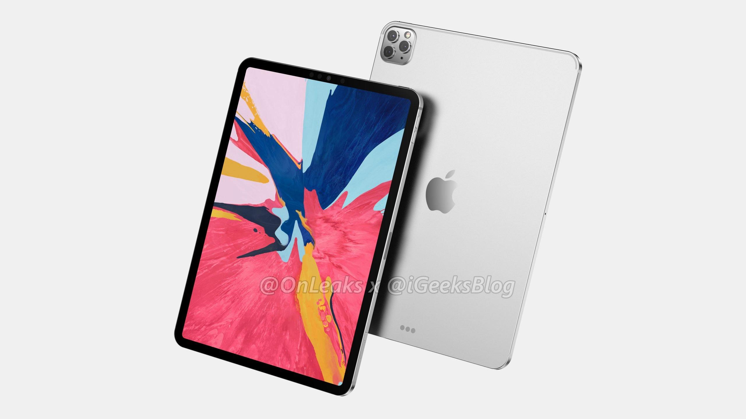 新型iPad Pro、トリプルカメラ搭載で2020年3月発表か