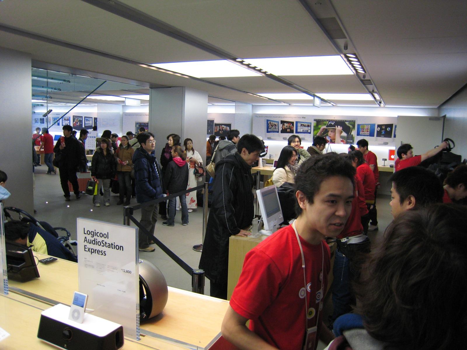 【LuckyBag 2014】1000人以上が並んだApple Store銀座に先頭で並んだ人は大当たりをゲットすることができたのか!?