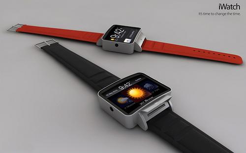 Apple、「iWatch」を開発かー腕時計型のiOSデバイス