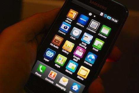 2012年1月ー3月のスマートフォン出荷台数でサムスンがAppleを上回る。