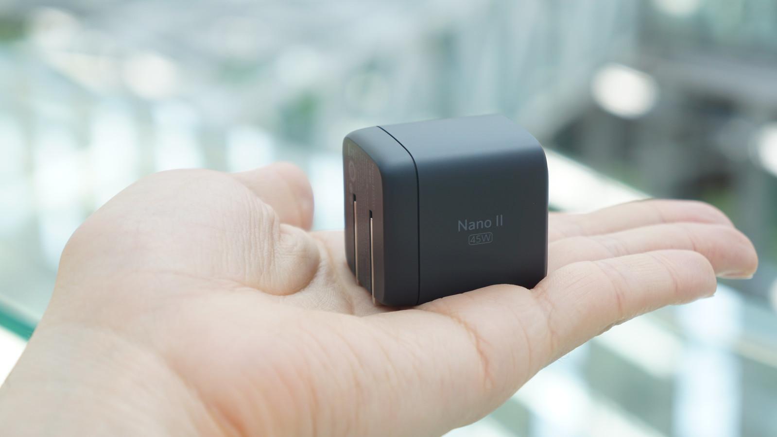 最大65W、超コンパクトな新世代充電器「Anker Nano II」登場。45Wは3390円できょう発売