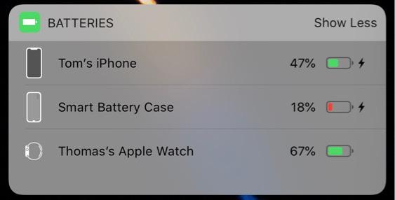 iPhone XS向け「Smart Battery Case」のアイコンがiOS 12から発見される