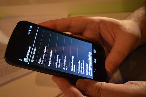 Google、「Nexus 7」と「GALAXY Nexus」向けにAndroid 4.2へのアップデートを提供。